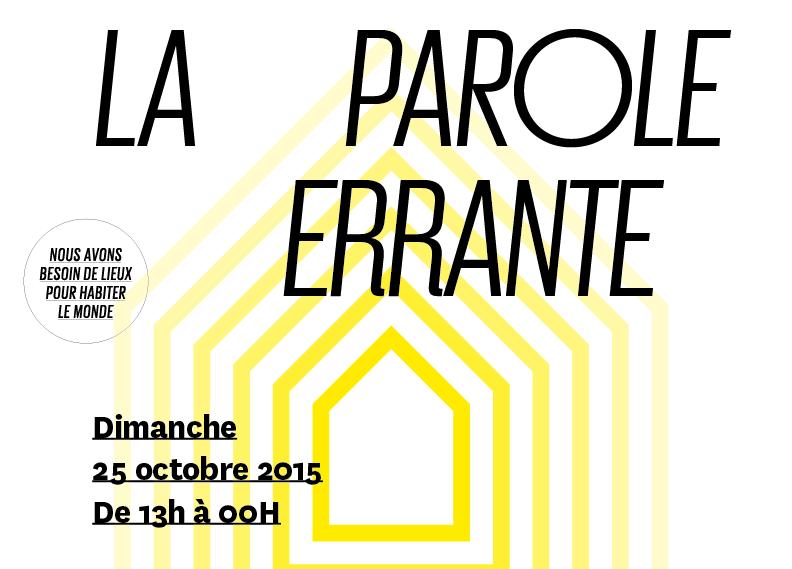 MONTREUIL – Manifestation pour défendre «la Parole errante» demain à partir de 13h