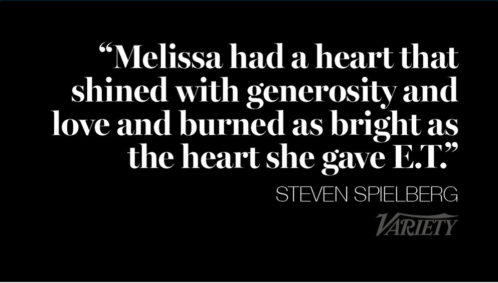 Melissa Mathison - Spielberg