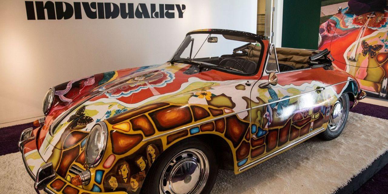 LaPorsche psychédélique de Janis Joplin vendue 1,6 million d'euros