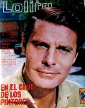 Louis Jourdan - 1966 - Couverture de Lolita magazine