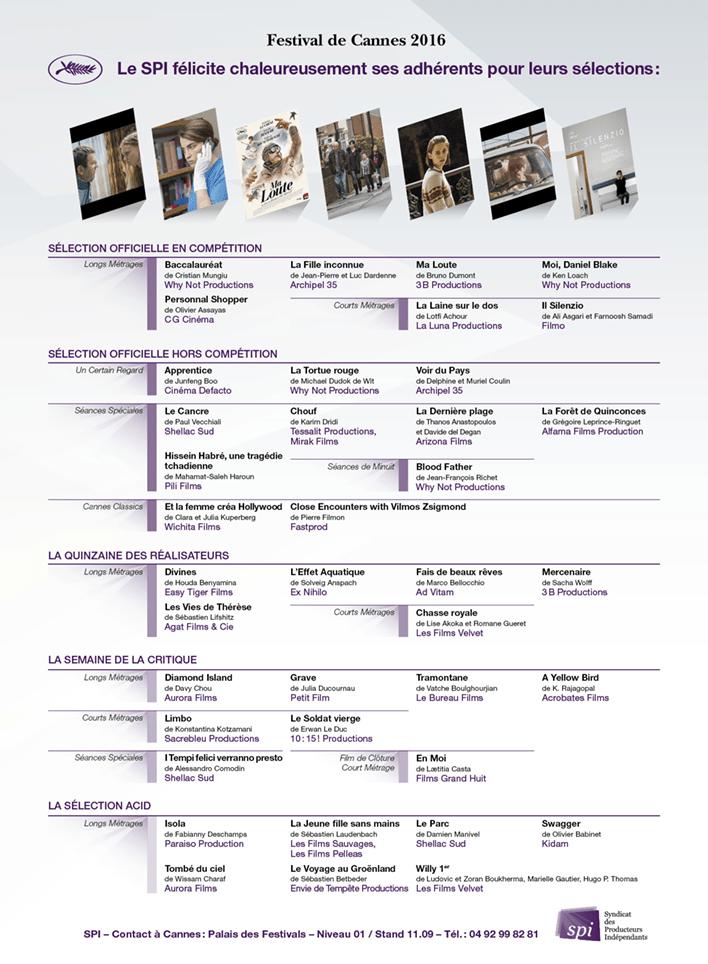 Le SPI à Cannes 2016 (2)