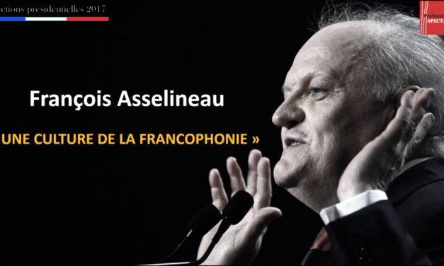La culture selon… François Asselineau