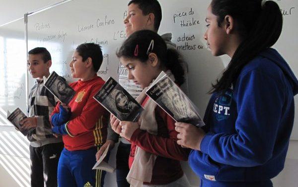 Prix Collidram: les collégiens face aux textes et aux auteurs de théâtre