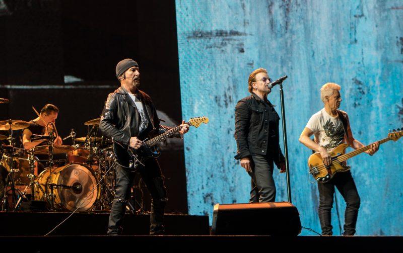 Les grosses tournées font les gros revenus, U2 arrive en tête
