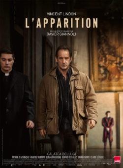 """Affiche de """"L'Apparition"""", film de Xavier Giannoli avec Vincent Lindon et Galatéa Bellugi"""