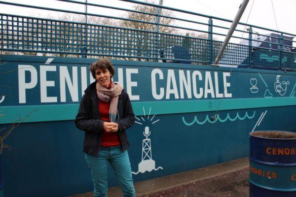 Manon Letourneur, directrice de la Péniche Cancale à Dijon en Bourgogne