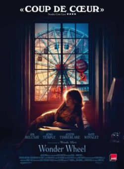 "Affiche du film ""Wonder Wheel"" de Woody Allen avec Kate Winslet, Jim Belushi, Justin Timberlake et Juno Temple"