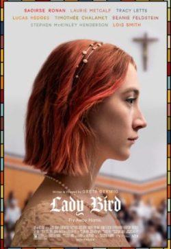 Affiche de Lady Bird, film de Greta Gerwig, avec Saoirse Ronan