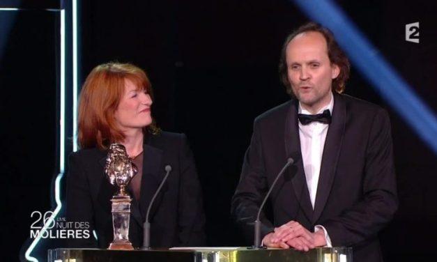 Les Molières ce soir sur France 2 : «Les Molières rassemblent théâtre public et privé sans polémique»