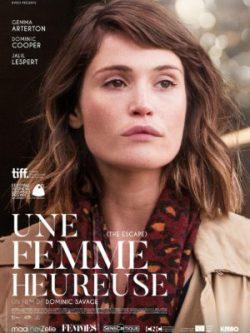 Dominic Savage, Une femme heureuse, avec Gemma Arterton (affiche)