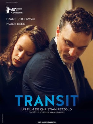 Christian Petzold, Transit, avec Franz Rogowski et Paula Beer (affiche)
