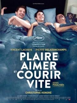 Christophe Honoré, Plaire, aimer et courir vite (affiche)