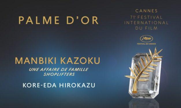 Cannes 2018 : la Palme d'or à «Une affaire de famille» de Hirokazu Kore-Eda