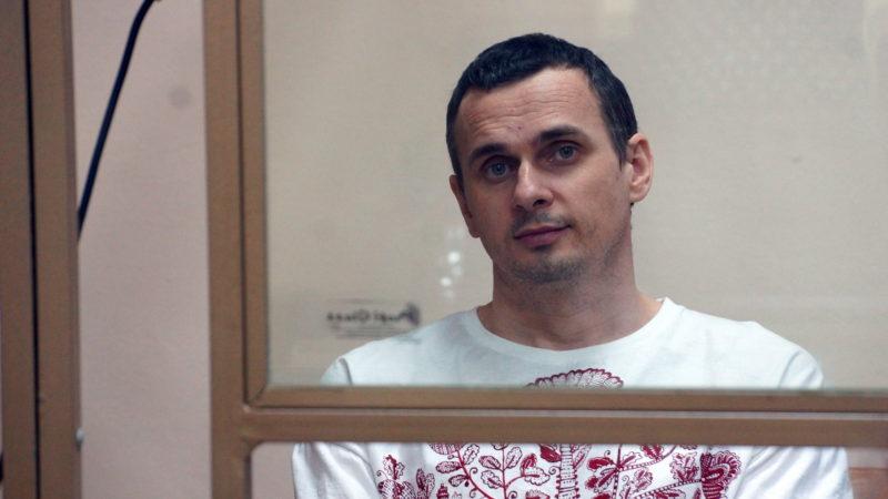 Oleg Sentsov reçoit le prix Sakharov