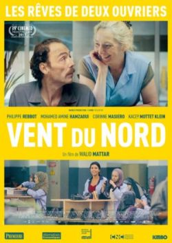 Walid Mattar, Vent du nord, avec Philippe Rebot et Corinne Masiero (affiche)