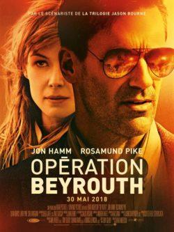 Brad Anderson, Opération Beyrouth, avec Jon Hamm, Rosamund Pike (affiche)