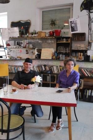 Régis Di Giorgio et Hélène Henry-Fohr du Bar Atteint à Belfort (crédits : Morgane Macé / Profession Spectacle)