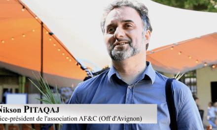 Vidéo. Présentation du fonds de professionnalisation d'Avignon Off avec Nikson Pitaqaj