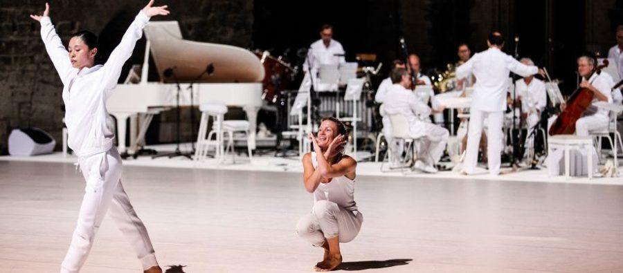 Story Water d'Emanuel Gat & Ensemble Modern (crédits : Julia Gat)