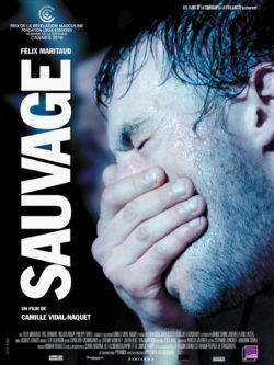 Camille Vidal-Naquet, Sauvage, avec Félix Maritaud affiche film