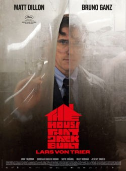 Lars von Trier, The House That Jack Built, avec Matt Dillon affiche film