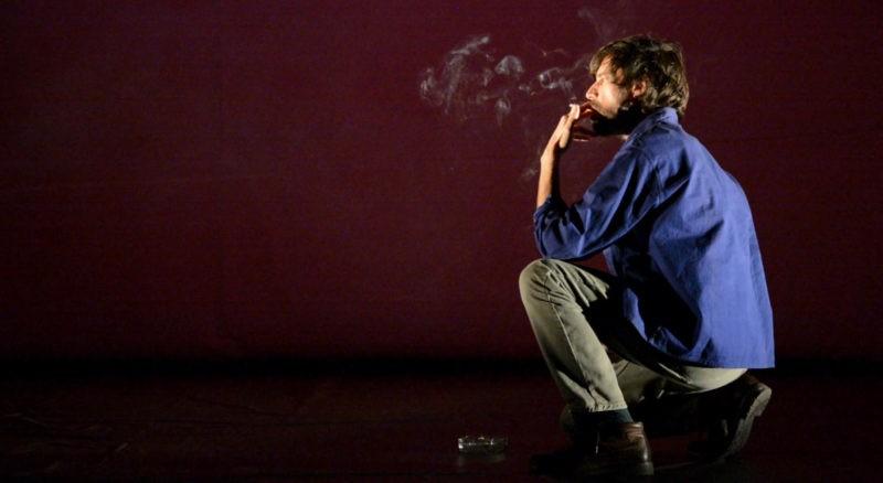 """Marc Garcia Coté dans """"Pas pleurer"""" (crédits : Rita Martinos)"""