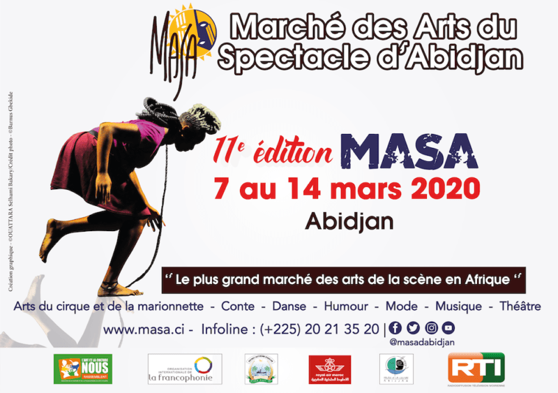Marché des Arts du Spectacle d'Abidjan : Appel à candidatures aux groupes artistiques – Conte, Danse, Humour, Musique, Théâtre, Slam