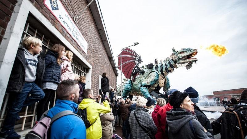 Le dragon de Calais crédits : Angelique Lyleire