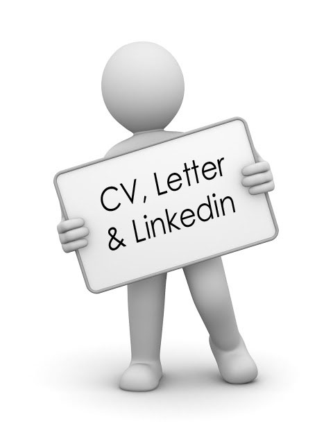 CV, letter and linkedin profile writing package uk