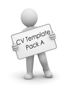 student and graduate cv writing template pack
