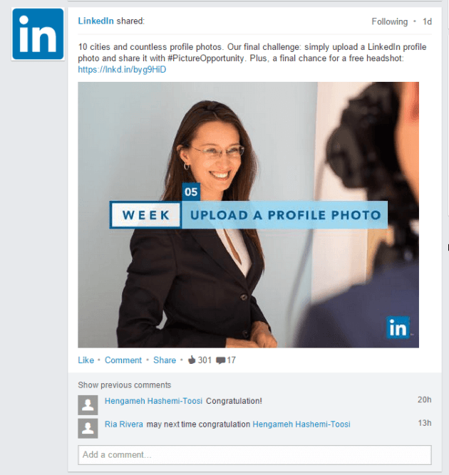 Linkedin - is this the end sexism on Linkedin