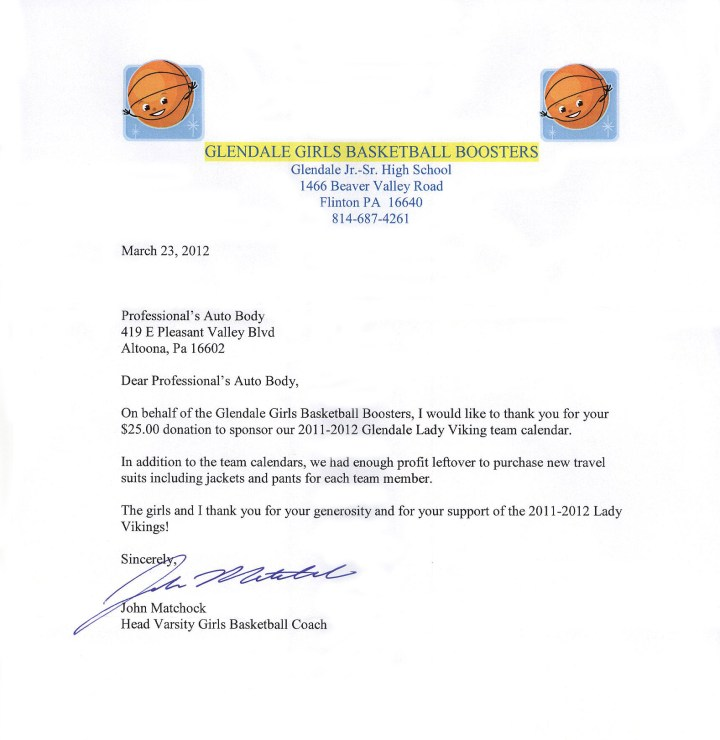 Solicitation letter for basketball sponsorship poemview school fundraising thank you letter sample solicitation letter for basketball compatible sample team thecheapjerseys Images