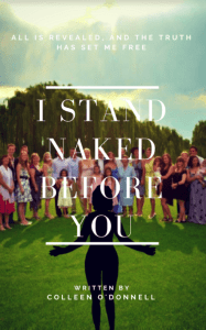 Book Cover Design - I stand naked before you