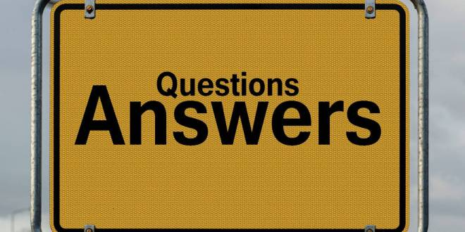 question and answer after presentation