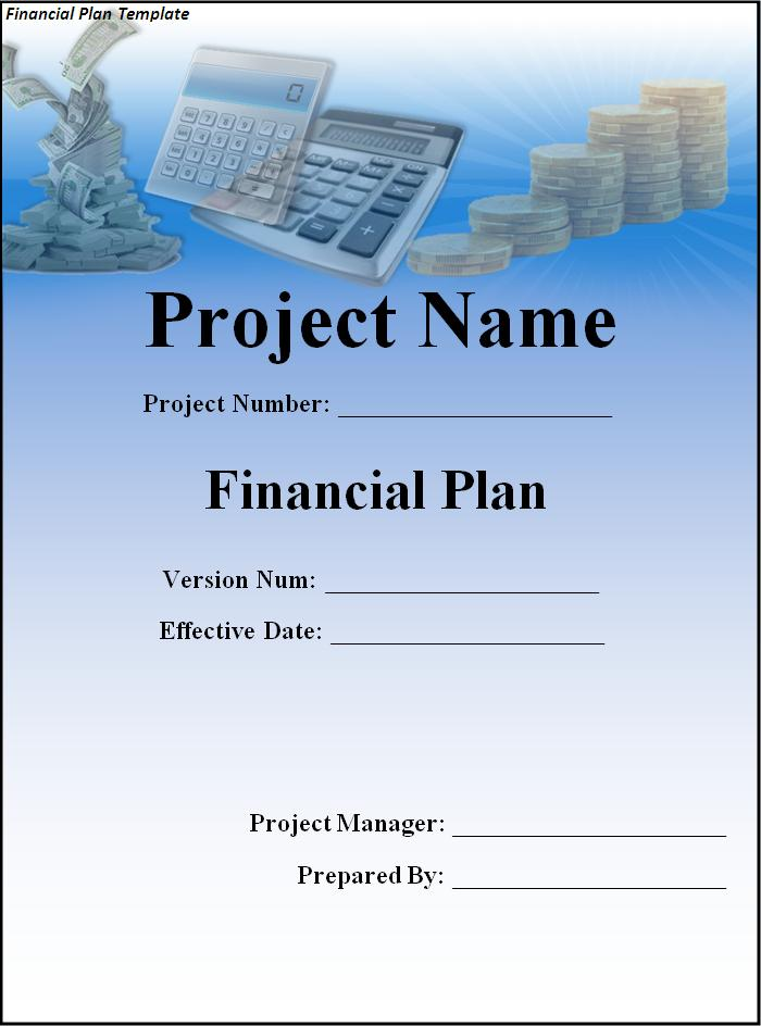 Financial Plan Template  Professional Word Templates
