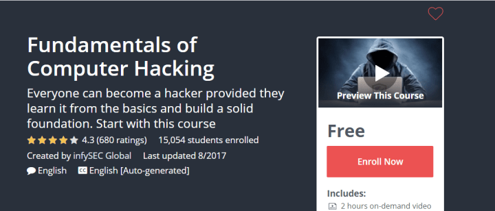 Ethical Hacking Course: Fundamentals of Computer Hacking