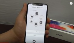 virtual home button iPhone X