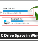 Increase C Drive Space