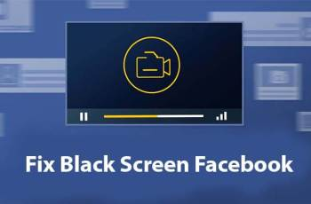 Black Screen Facebook Video