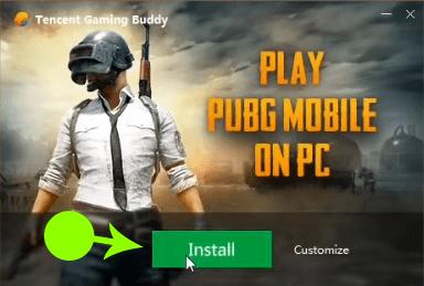 Install PUBG