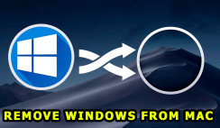 Remove Windows from Mac