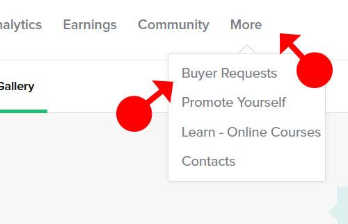 buyer request