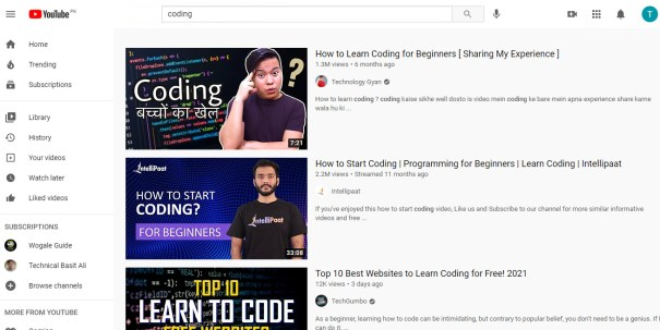 12 Best Resources to Learn Coding For Beginners at Home 2021