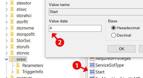 Registry Editor Start