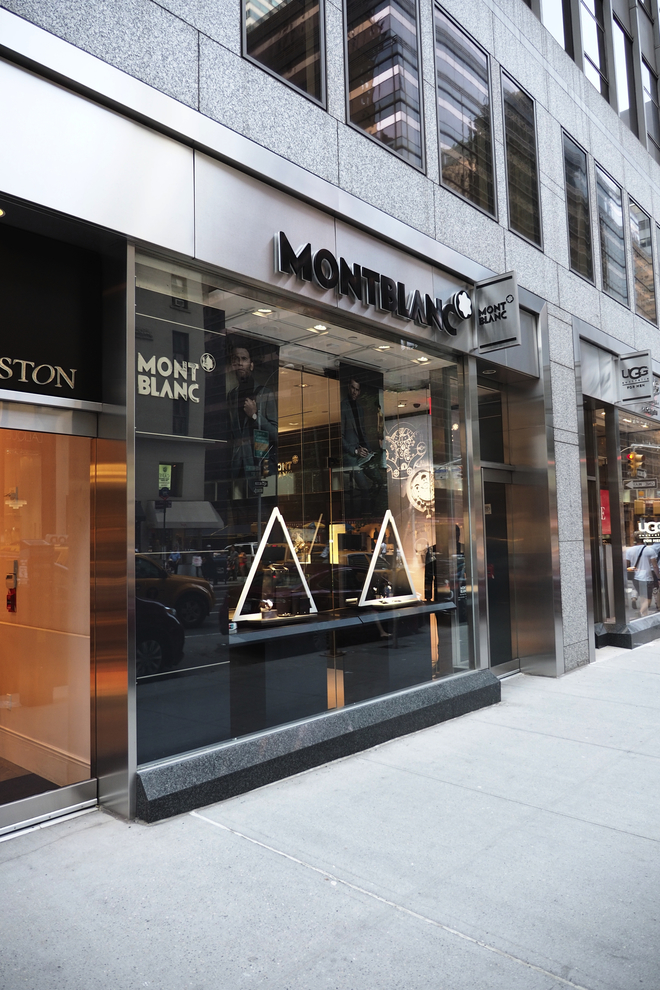 The Montblanc boutique is located between 57th and 58th streets on Madison Avenue. (600 Madison Ave)