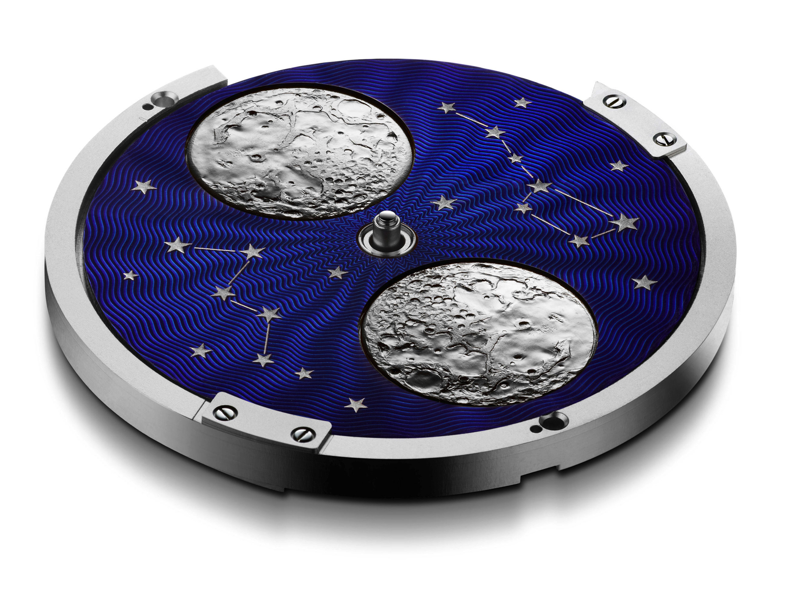 Arnold & Son HM Perpetual Moon in steel case with blue