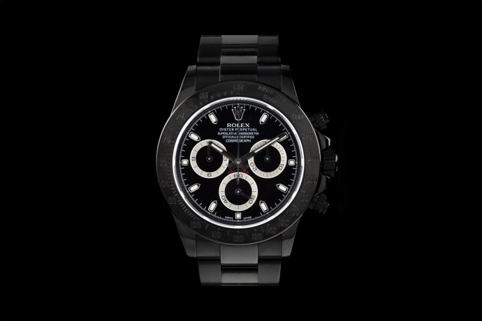 Original Rolex PVD Daytona by Bamford and Sons