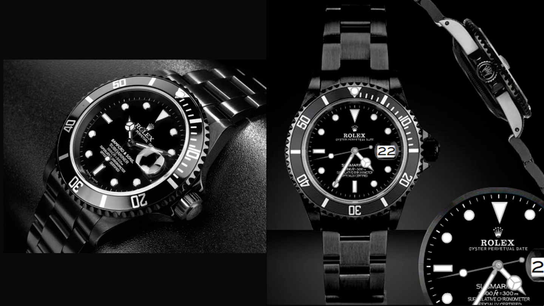 Rolex Submariner All Black By Bamford Amp Sons