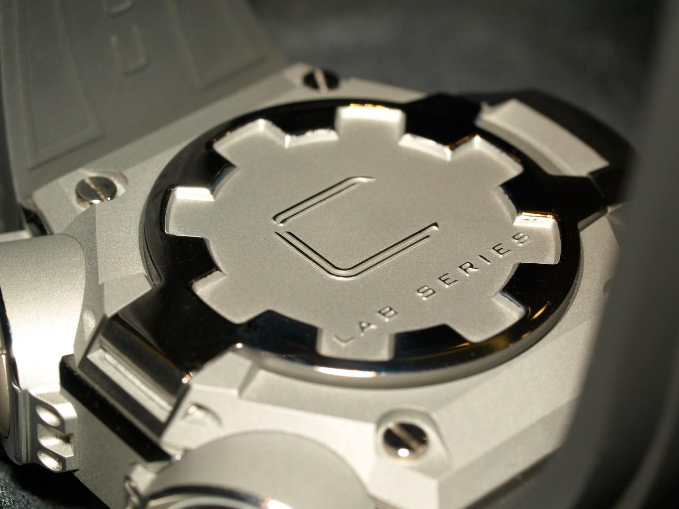Concord C1 Quantum Gravity caseback