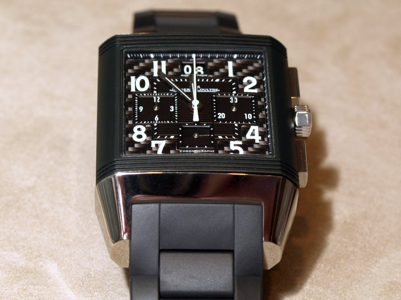 Jaeger-LeCoultre Reverso Squadra Polo Fields World Chronograph